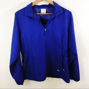 Nike Golf 1/4 Zip Windbreaker Jacket Pullover